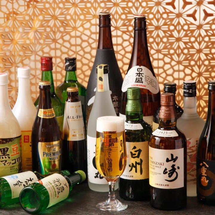 韓国酒をはじめ、シャンパン、ワインなども取り揃えております