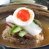 冷麺(Cold Noodles)
