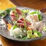 【飲み放題付】その弐■旬の刺身と酒菜コース ※料理だけは4,200円(税込)