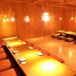 最大60名様の大宴会も完全個室でご対応!同窓会や会社宴会に。