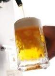 ◆キンキンに冷えたビールで乾杯◆