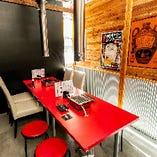 【テーブル個室】女子会や飲み会に◎開放感溢れるプライベート空間|4~8名様