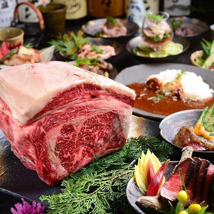 肉中心!飲み放題付きコース4000円~