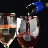 ワインは肉料理をさらに華やかに。