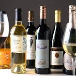 ビオワインを中心に、お料理に合うワインを取り揃えております