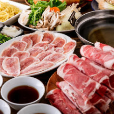 ラム&鴨しゃぶ 食べ放題+飲み放題(2時間)
