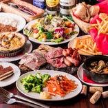 【ご宴会コース】 肉好き必見!2.5時間飲み放題付2,980円~