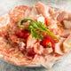 プランの前菜1品★パルマプロシュートレガートと季節のフルーツ