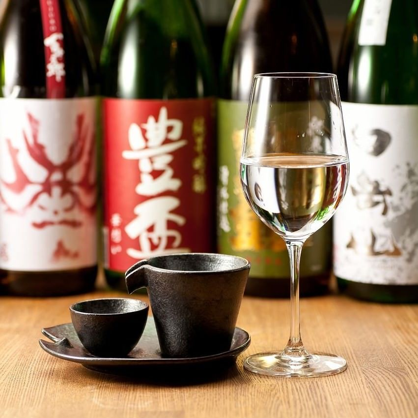 全国から酒蔵から厳選した日本酒