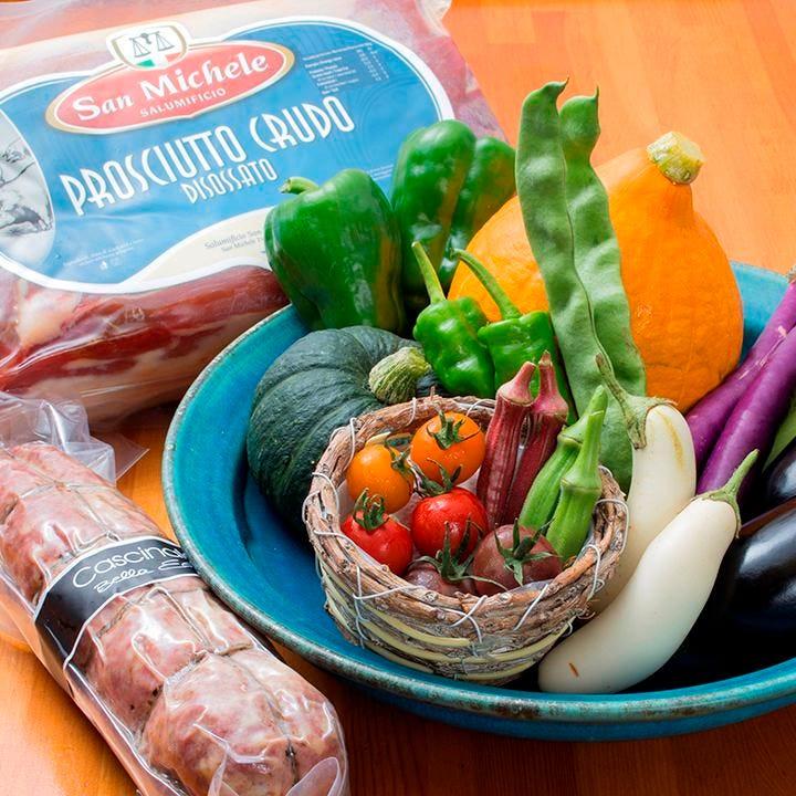 ヴェニーテ厳選のお肉やお野菜達♪