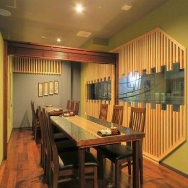Tempura & Wine 久遠  店内の画像