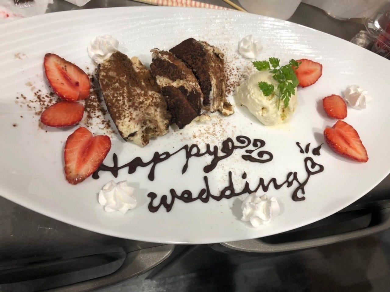 【席のみ予約】記念日・デートにおすすめ!デザートプレート付き