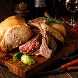 厳選したお肉の肉バルメニューをご堪能下さいませ♪