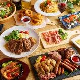 当店自慢の肉バル料理を多数取り揃え!