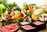 お野菜は、契約農家さんが大切に育てたお野菜です!