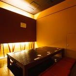 ◆和モダン掘りごたつ個室(8名様よりお部屋の貸切が可能でございます)