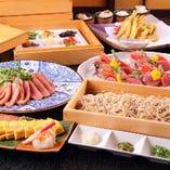 ◆コース料理は飲み放題付き 3500円からご予算に合わせて