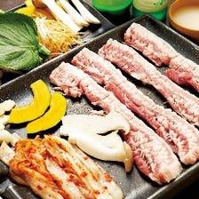 特上の豚バラ肉は絶品!
