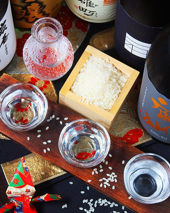 岡山地酒&季節限定地酒