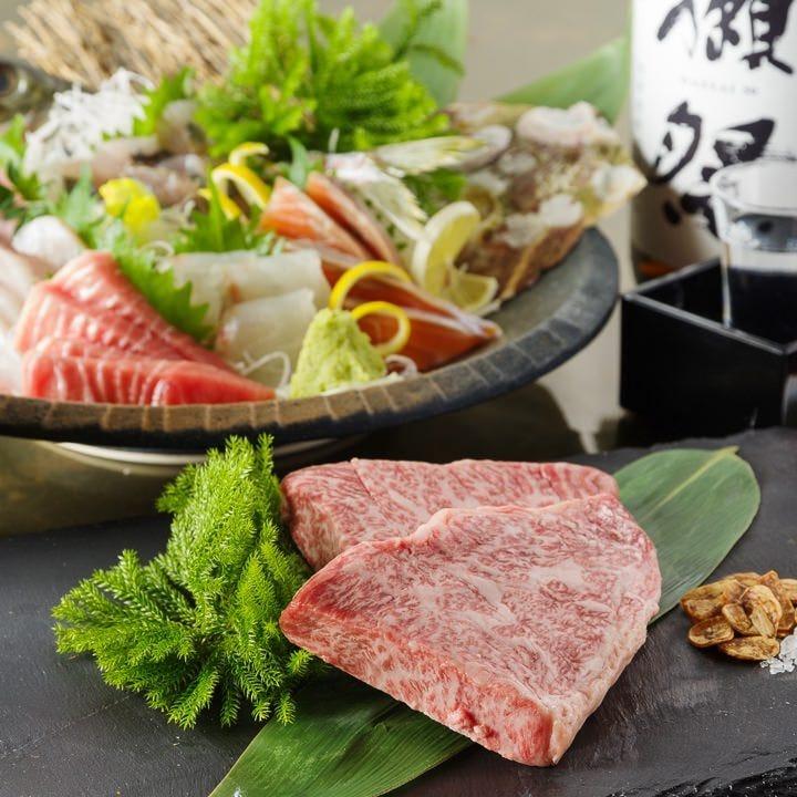 日本全国の旬食材を使用した限定料理
