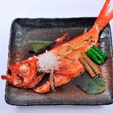 地金目鯛煮付(片身)