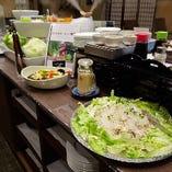 平日限定!【ランチ】麦とろ野菜ビュッフェ