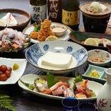 別館・仲々庵の気楽な店内で和食の料理人が腕ふるう一品料理をお愉しみいただけます