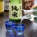 彩の国の地酒も豊富にご用意