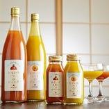 山梨県産 フルーティーなおもいろ&そがいろトマトのジュース