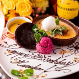 記念日誕生日のお祝いにも最適なお店です。