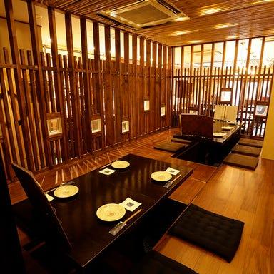 日吉 日本酒 いろり屋金魚  店内の画像