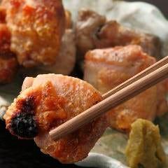地鶏の網焼き