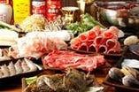 新鮮野菜や海鮮・お肉も絶品です