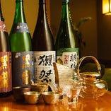 全国各地の厳選地酒をご用意しております。