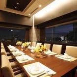 【個室テーブル席】12名×1