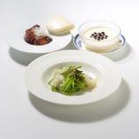 高級食材を使った各種本格中国料理コース(8250円~)でおもてなし