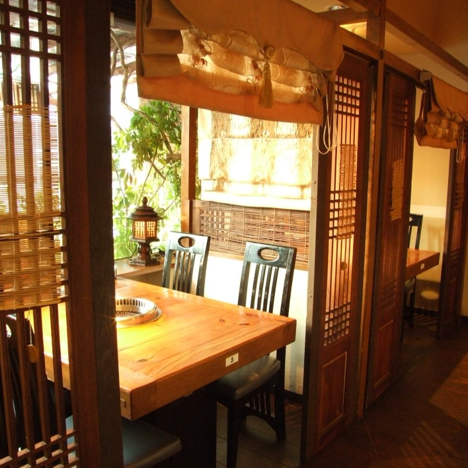 ●韓式テーブル個室を予約! 4~8名