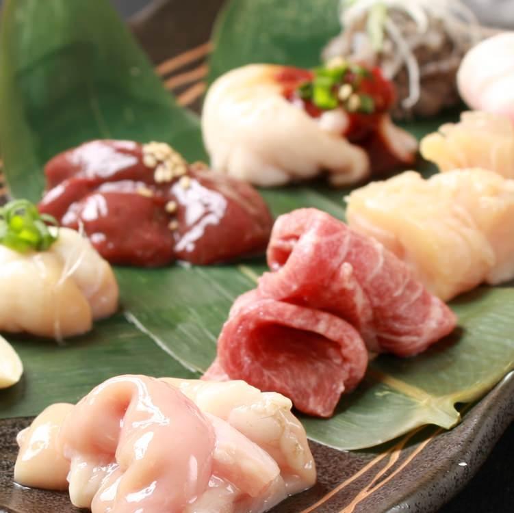7種類を皆でワイワイ食べ比べ♪ 【コース限定】7点盛