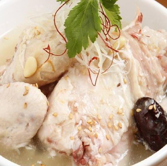 【参鶏湯クッパ】 ¥1143(税込¥1234) ■一品■キムチ付き