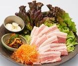 韓国焼肉の定番中の定番!!サムギョプサル