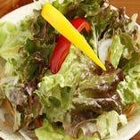 一番人気の定番サラダ 甘酸っぱいドレッシングが食欲をかき立てます!!【チョレギ】