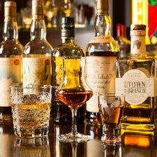 通をも唸らせる種類豊富なウイスキー