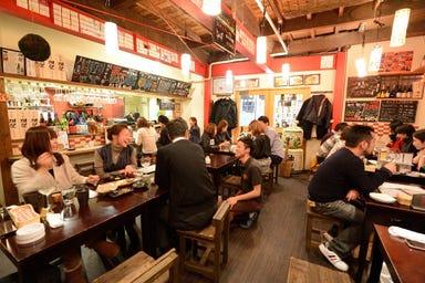 梅田日本酒エビス  店内の画像
