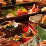 【季節限定】旬の味覚を味わう季節限定コースもございます!