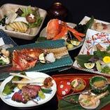 接待・大人の宴会に◎宴会コースで旬の食材をご賞味ください。
