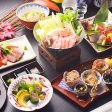 淀屋橋コース(全12品/8,250円)接待に喜ばれる。四季を味わうコースでおもてなし