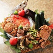 新鮮な鮮魚を厳選仕入れ!