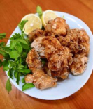 鶏もも肉の塩麹から揚げ