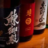 全国から季節に合わせて厳選した日本酒をご用意