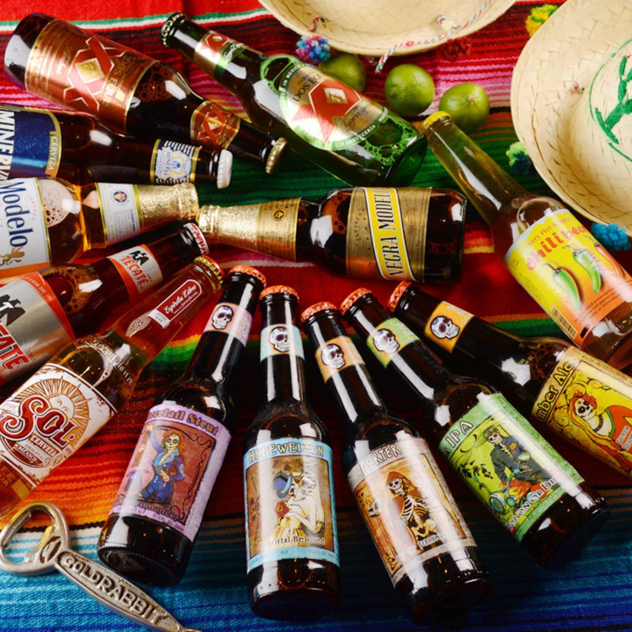 13種以上のメキシコクラフトビール